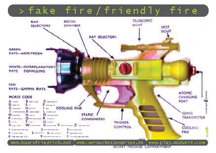 play! fake fire / friendly fire
